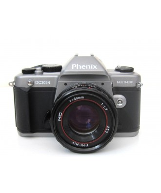 USED: Phenix DC303N 35mm SLR Film Camera with Phenix 50mm f1.7 Lens