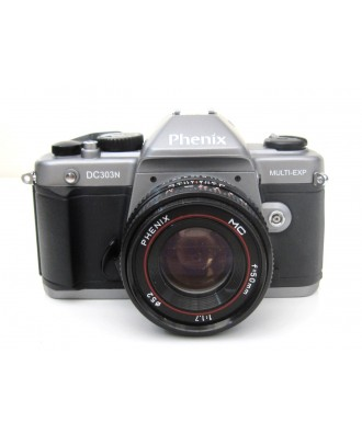 USED: Phenix DC303N 35mm Film Camera with Phenix 50mm f1.7 Lens
