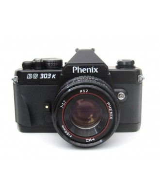 USED: Phenix DC303K 35mm SLR Film Camera with Phenix 50mm f1.7 Lens