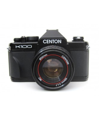 USED: Centon K100 35mm SLR Film Camera with Centon 50mm f1.7 Lens
