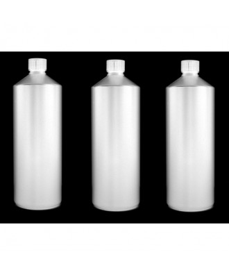 3X Darkroom Chemical Storage Bottles - 1L (All White)